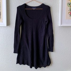 American Eagle Long Sleeve Swing Sweater Dress